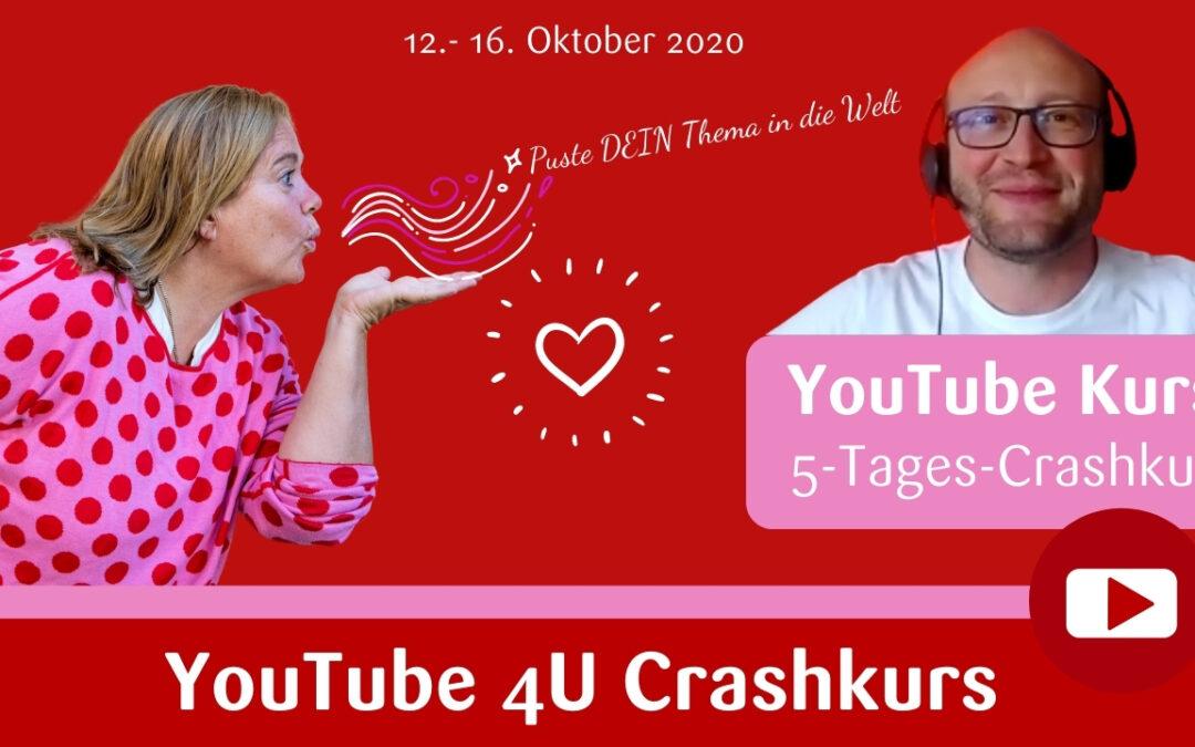 YouTube 4U Crashkurs