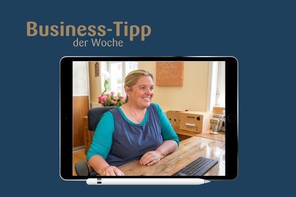 Business Tipp der Woche