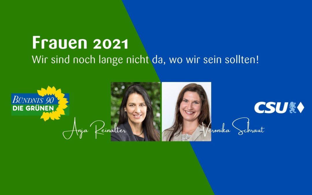Frauen 2021 – Wir sind noch lange nicht da, wo wir sein sollten!