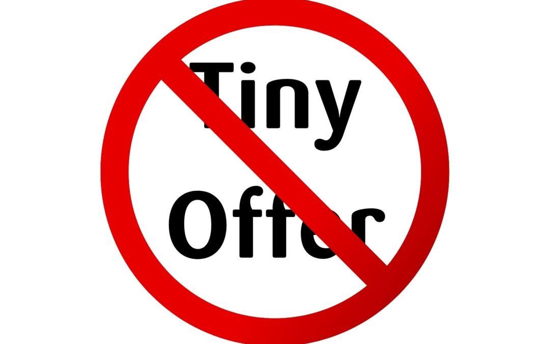 Tiny Offer geschützt? – Wie ein Shitstorm entsteht
