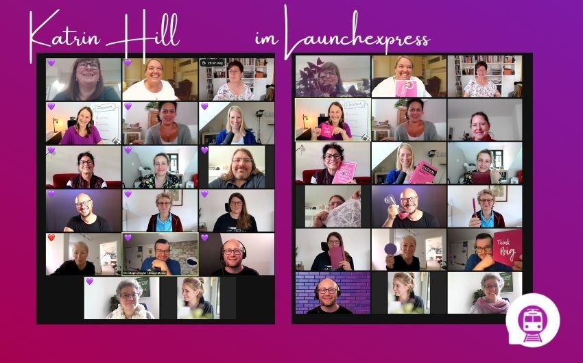 Katrin Hill im LaunchExpress