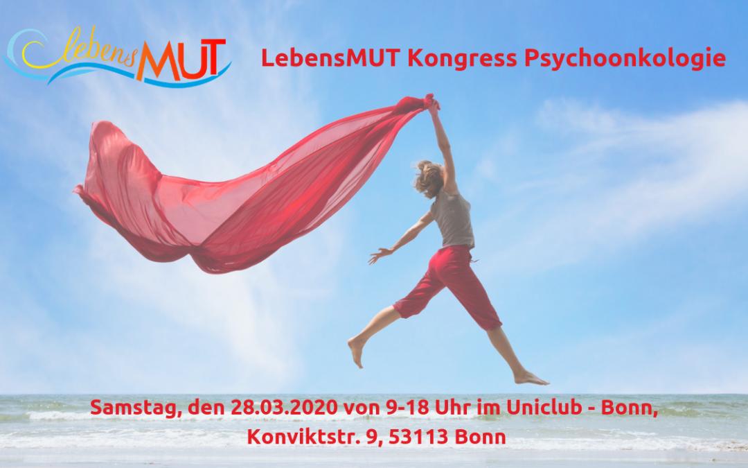 LebensMUT Kongress Psychoonkologie Bonn 2020