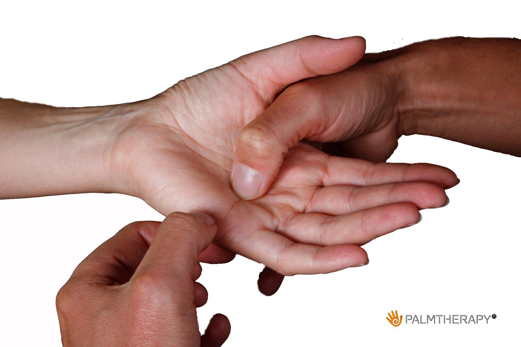 Palmtherapy bei belastenden Gefühlen