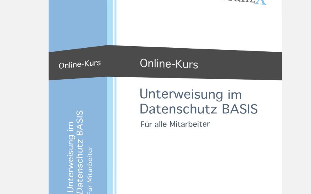 Unterweisung im Datenschutz Basis