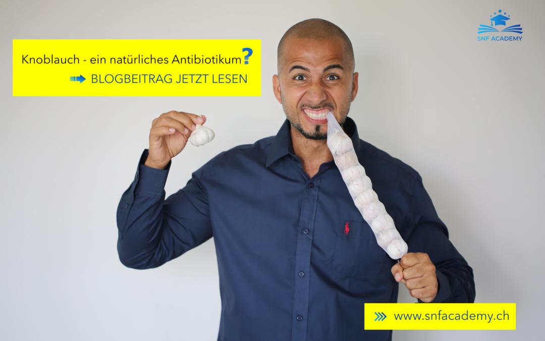 Knoblauch – ein natürliches Antibiotikum?
