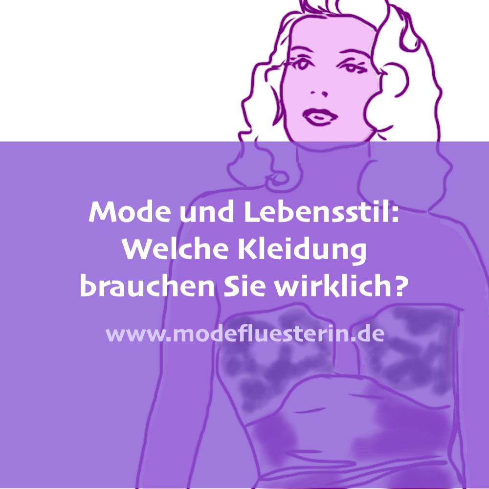 Mode und Lebensstil: Wie viel Kleidung braucht die Frau?