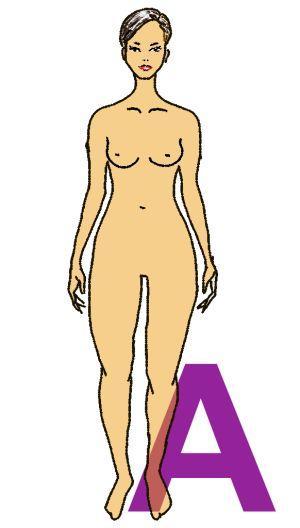 Figurine des A-Figur-Typs