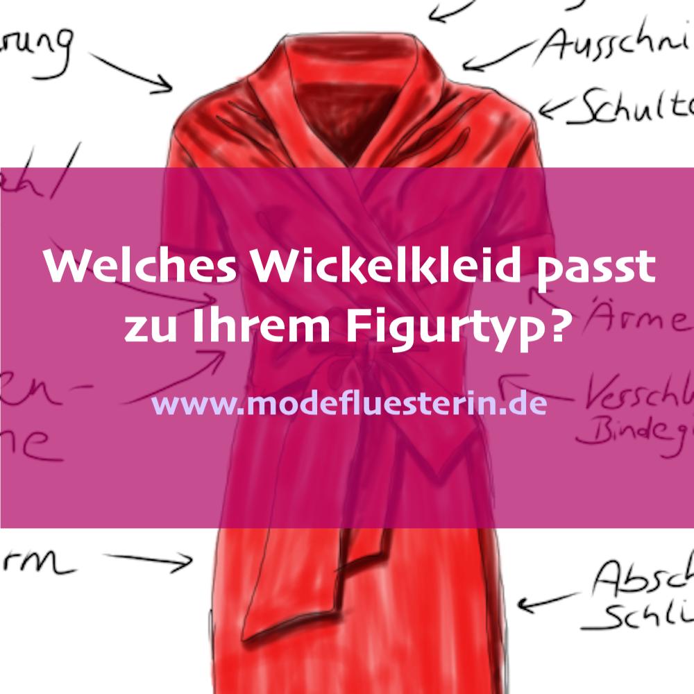 Ein Wickelkleid für jeden Figurtyp - Schnitte und Details von Wickelkleidern, die zu Ihrer Figur passen - Modeflüsterin