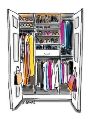 Ein Kleiderschrank sollte jede Saison überprüft, aussortiert und neu organisiert werden, damit Ihre Garderobe perfekt bleibt. Da machen Sie mit der Kleiderschrank-Inventur der Modeflüsterin.