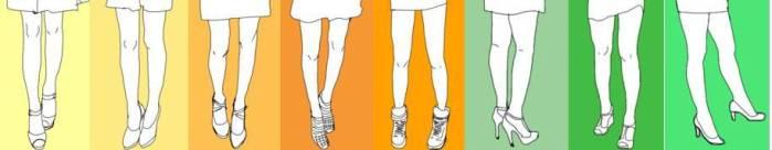 Zwischen diesen super-dünnen Beinen der Fashionistas haben sich drei Bein-Paare versteckt, die einigen der schönsten Frauen der Welt gehören. Können Sie sie erraten?