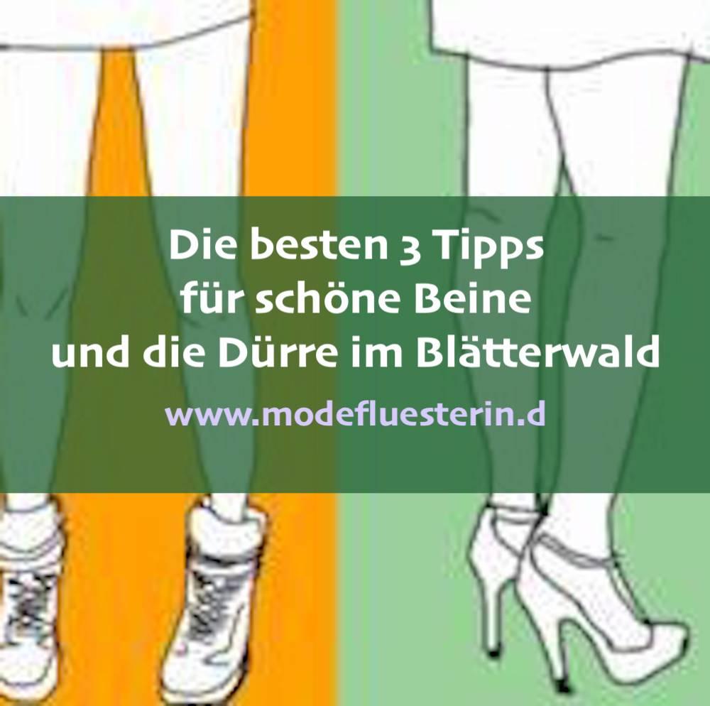 Die 3 besten Tipps für schöne Beine - unabhängig vom Gewicht