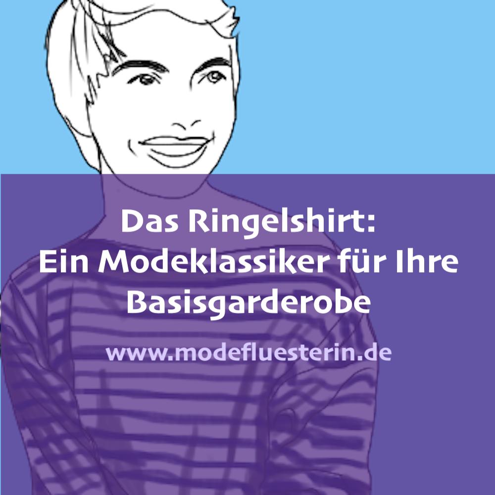 Modeklassiker Ringelshirt - ein Basic für die Basisgarderobe