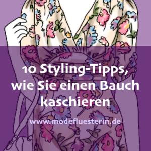 Wie Sie einen bauch kaschieren - 10 Styling-Tipps für eie schlanke Mitte - Modeflüsterin