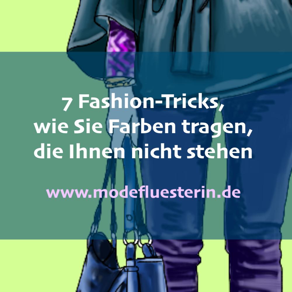 Falsche Farben kombinieren - 14 Tricks, die Sie Farben kombinieren, die Ihnen nicht stehen - Modeflüsterin