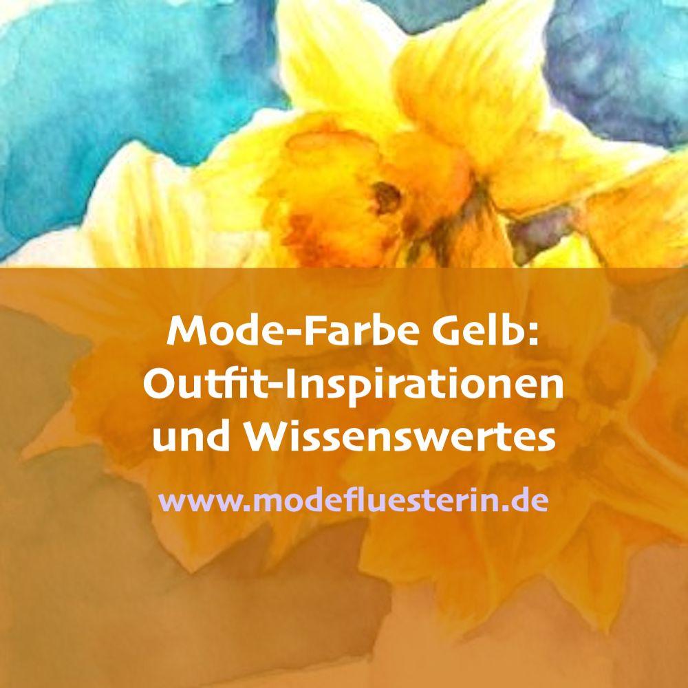 Mode-Farbe Gelb - Outfits und Kombinationen