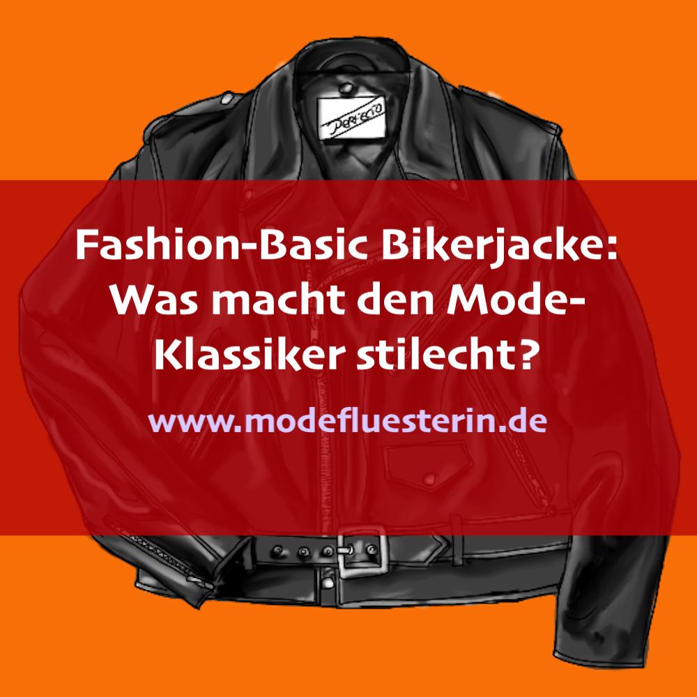 Fashion Basic Bikerjacke - Was macht die Lederjacke stilecht?