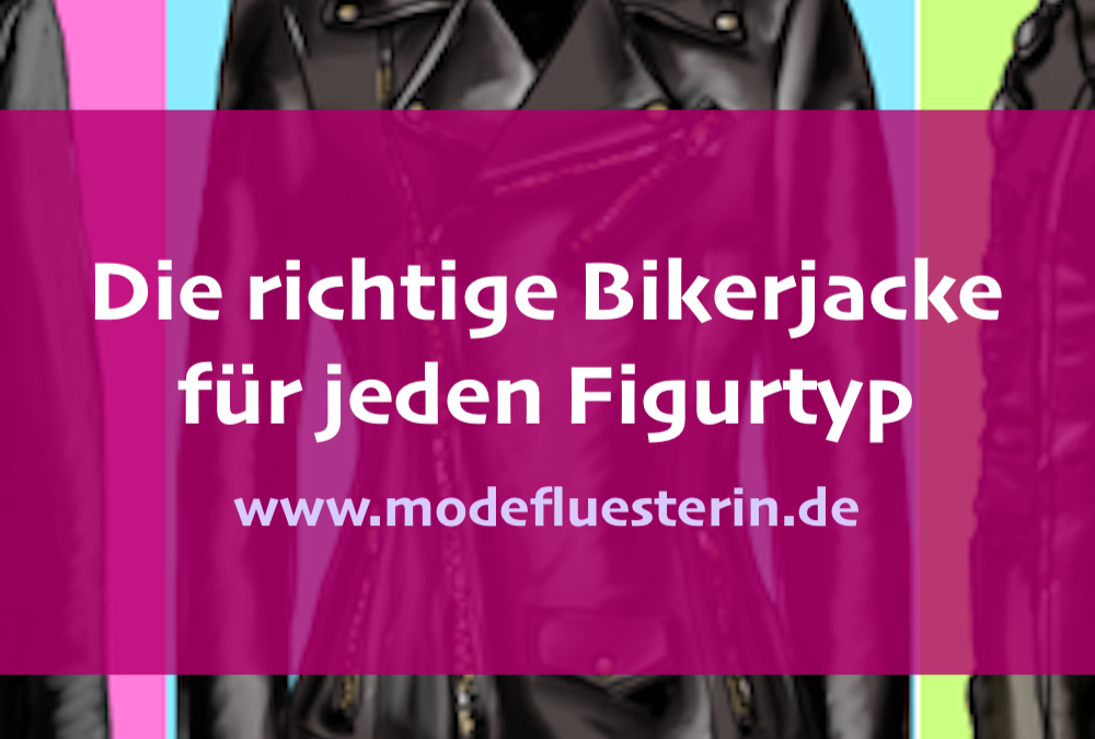 Die richtige Bikerjacke für jeden Figurtyp