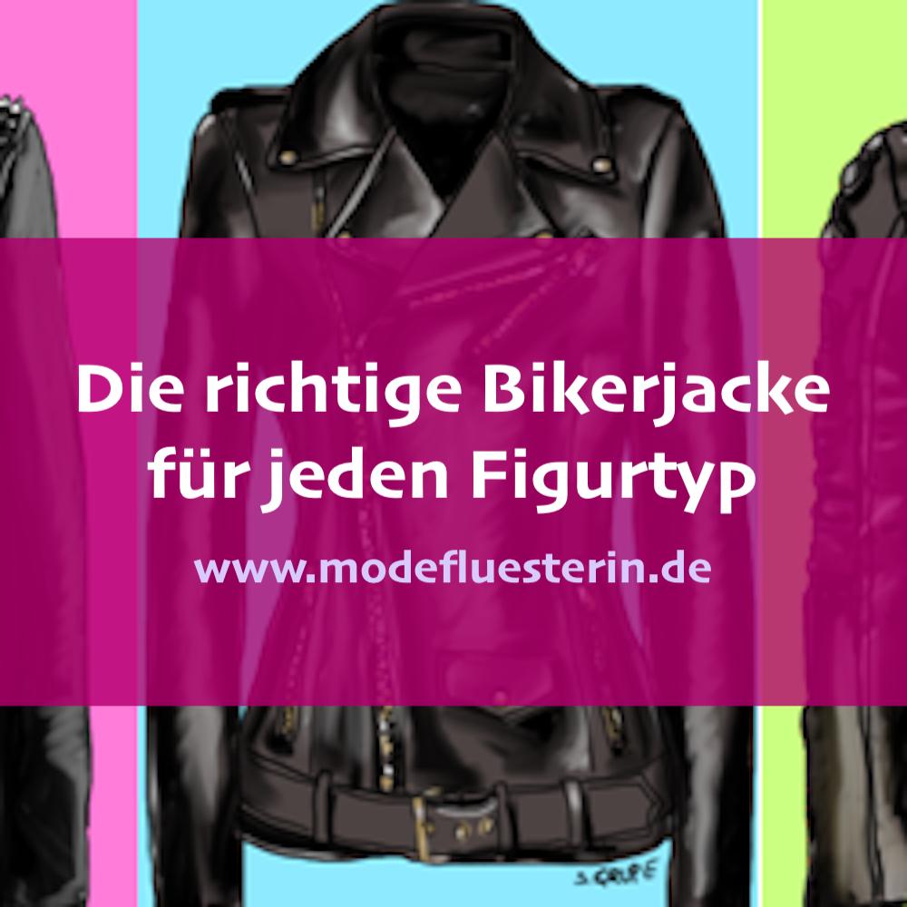 Die passende Bikerjacke für jeden Figurtyp - Modeflüsterin