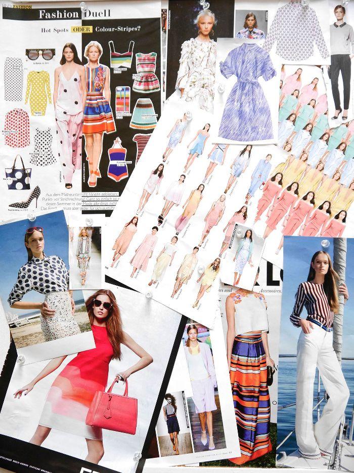 Das Mood Board von Stefanie zeigt die beiden stark ausgeprägten Seiten Ihrer Mode-Persönlichkeit.