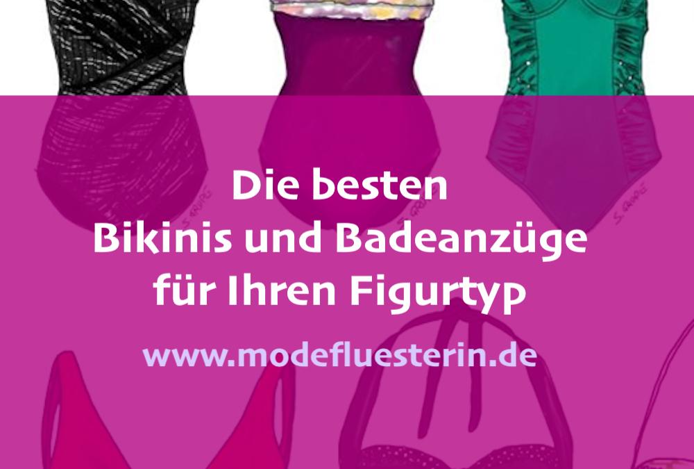 Bademode für jeden Figurtyp: Welche Bikinis und Badeanzüge stehen welcher Figur?