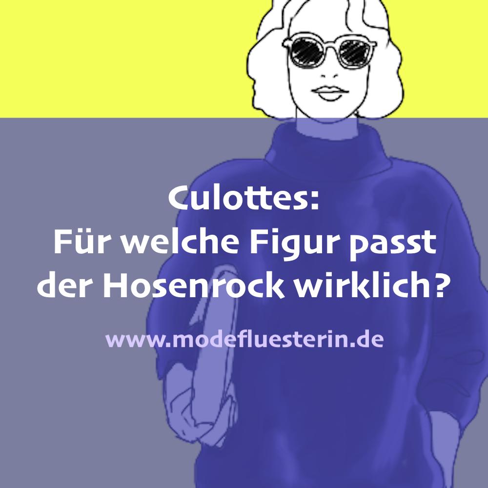 Zu welcher Figur passen Culottes wirklich und wie sie kombiniert werden - Modeflüsterin