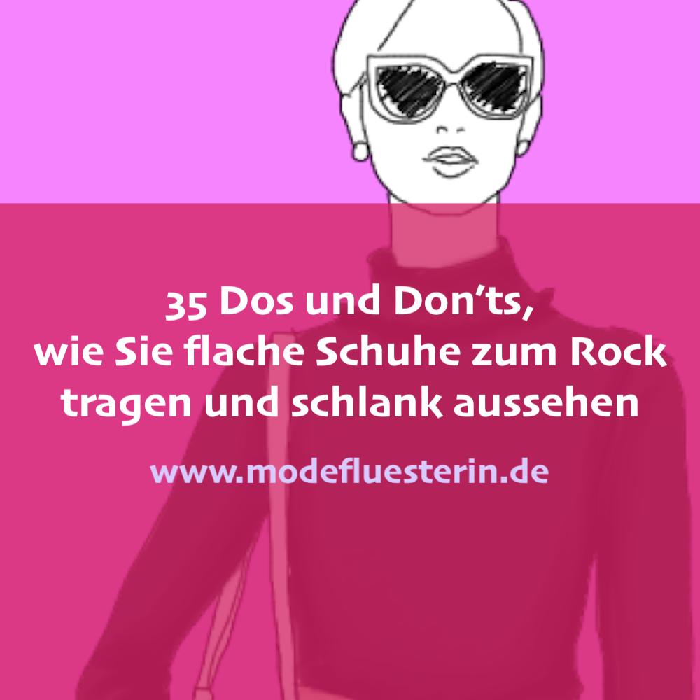 35 dos and don'ts, wie sie flache schuhe zum rock tragen
