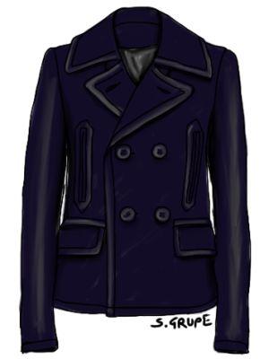 Caban-Jacke von Ralph Lauren: Ein Klassiker des Country-Stils. Klick!