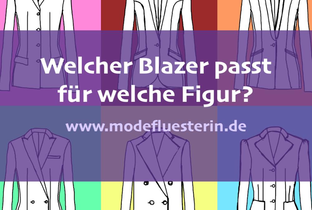 Welcher Blazer passt für welche Figur? Der große Blazer-Ratgeber mit Checkliste