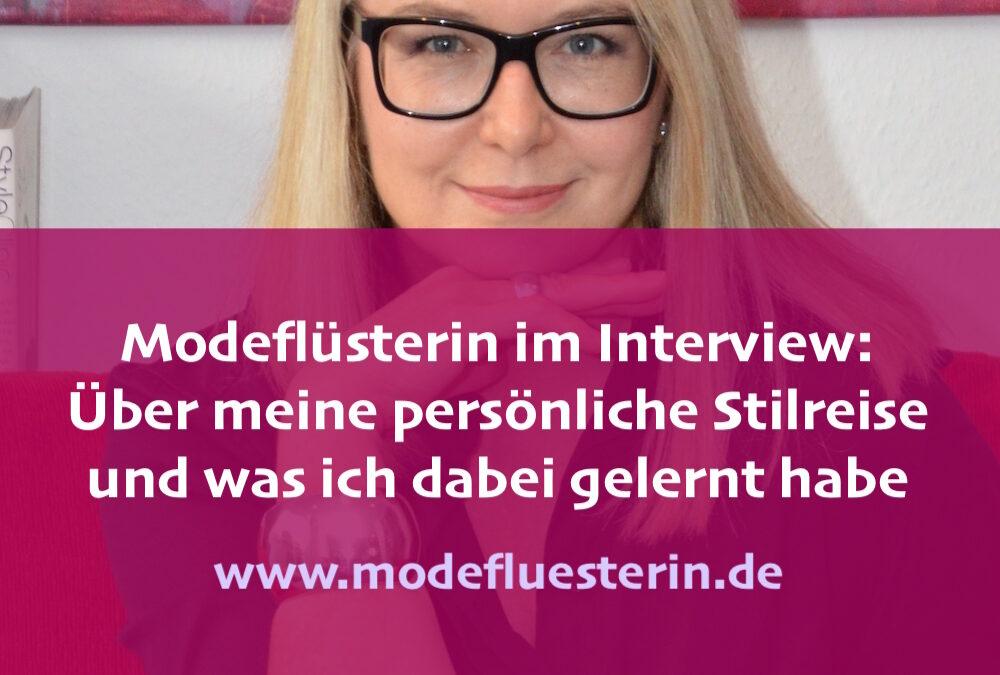 Die Modeflüsterin im Interview: Meine Stilreise
