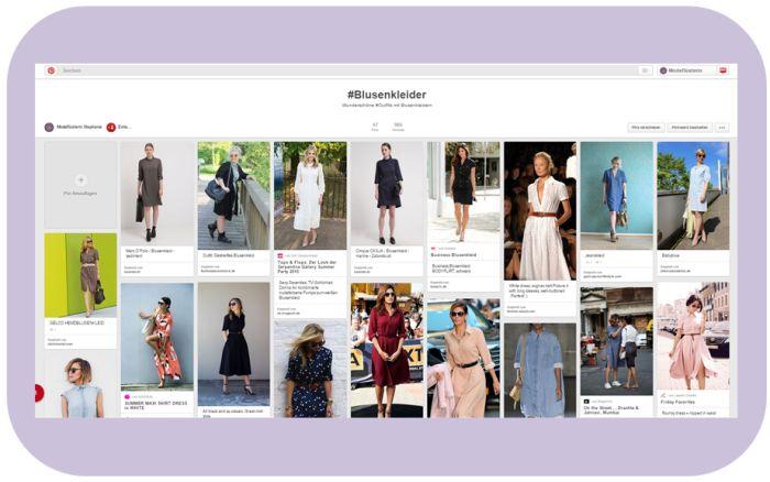 Blusenkleid kombinieren passend für jeden Stil und jede Figur