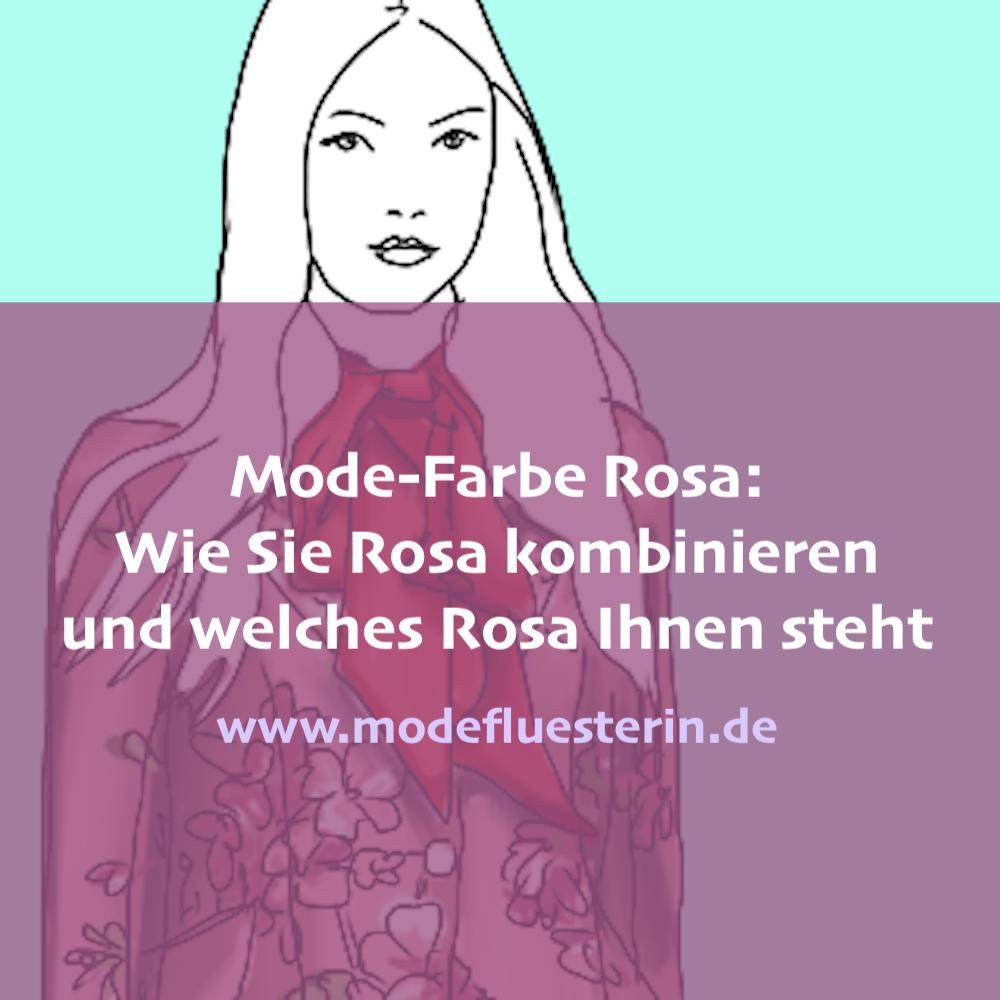 Mode-Farbe Rosa: Wie Sie Rosa kombinieren und wem die Trend-Farbe steht