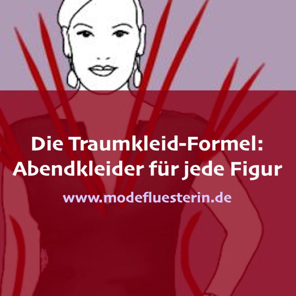 Abendkleider für jede Figur - die Traumkleid-Formel