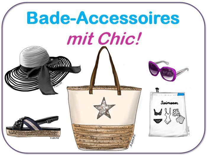 Die 10 besten Accessoires für Strand, Sonne, Meer - Badetasche, Sandalen, Bikini-Beutel, Sonnenbrille, Sonnenhut; Modeflüsterin - Mode, Stil und Wellness für starek Frauen über 40, 50 und 60.