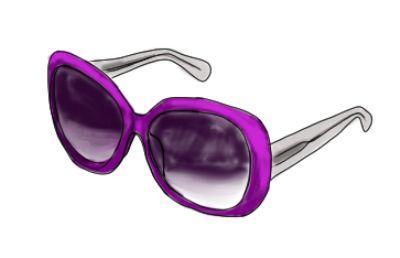Apropos Haarschmuck: Wenn Sie Ihre Sonnenbrille gerade nicht zum Schutz Ihrer Augen benötigen, kann sie auf charmante Art den Haarreif ersetzen...