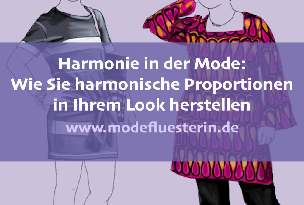 Harmonie in der Mode: So schaffen Sie harmonische Proportionen (Teil 2)