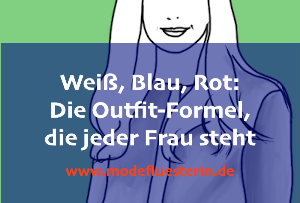 Outfits in Weiß, Blau, Rot: In 3 Schritten zur Farben-Kombi, die immer funktioniert