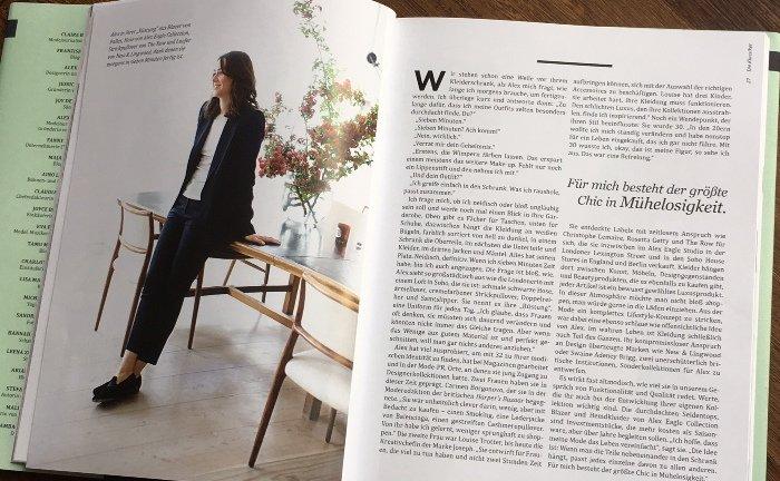 Starke Frauen, starkes Stilempfinden: Die Interviews mit interessanten Frauen bieten viel Inspiration.