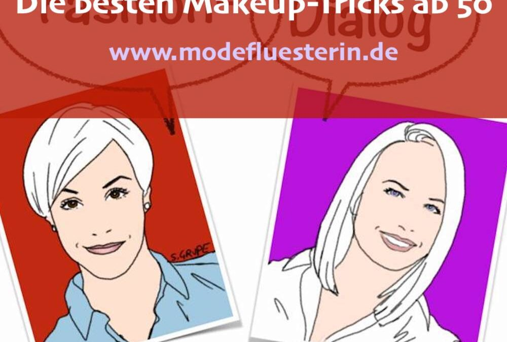Fashion-Dialog: Die besten Makeup-Tricks ab 50