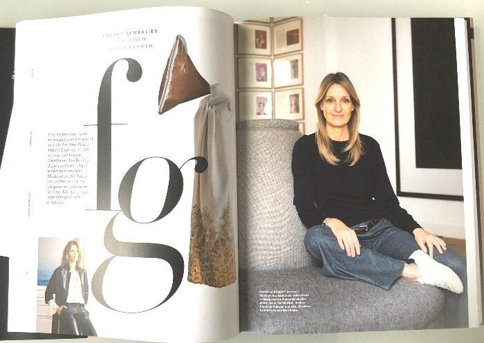 Frauke Gembalies ist eine von 19 Mode- und Schmuck- und Accessoires-Designer, die die Autoren besucht und liebevoll porträtiert haben.