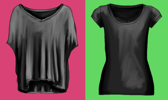 Ein T-Shirt in oversoze kann nicht so gut im Lagenlook eingesetzt werden - Modeflüsterin