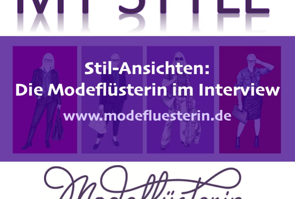 Stil-Ansichten: Ein Interview über Moderegeln und was Kleidung mit Lebensklugheit zu tun hat