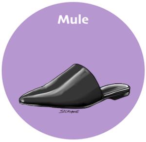Trendy und bequeme Sommer-Schuhe: Mules