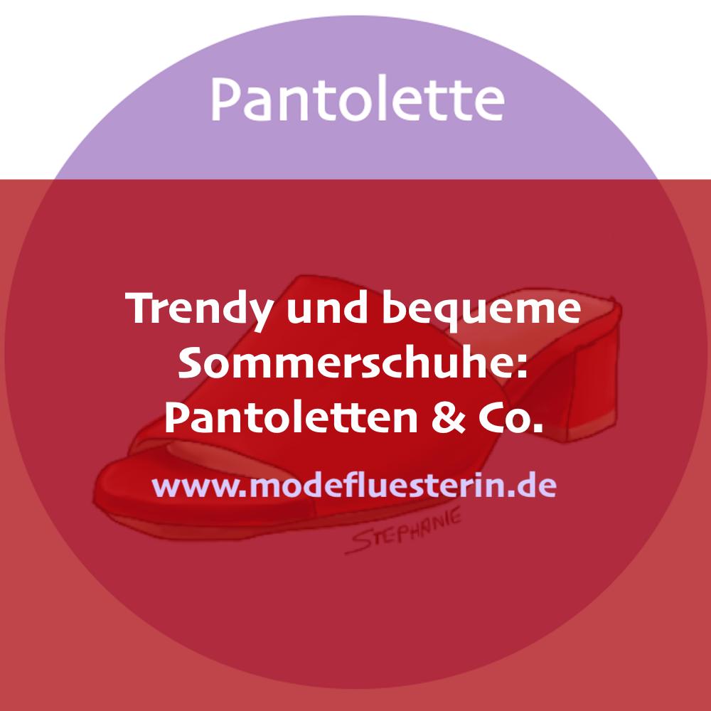 Trendy und bequeme Sommerschuhe - Pantoletten, Espadrilles und Mules