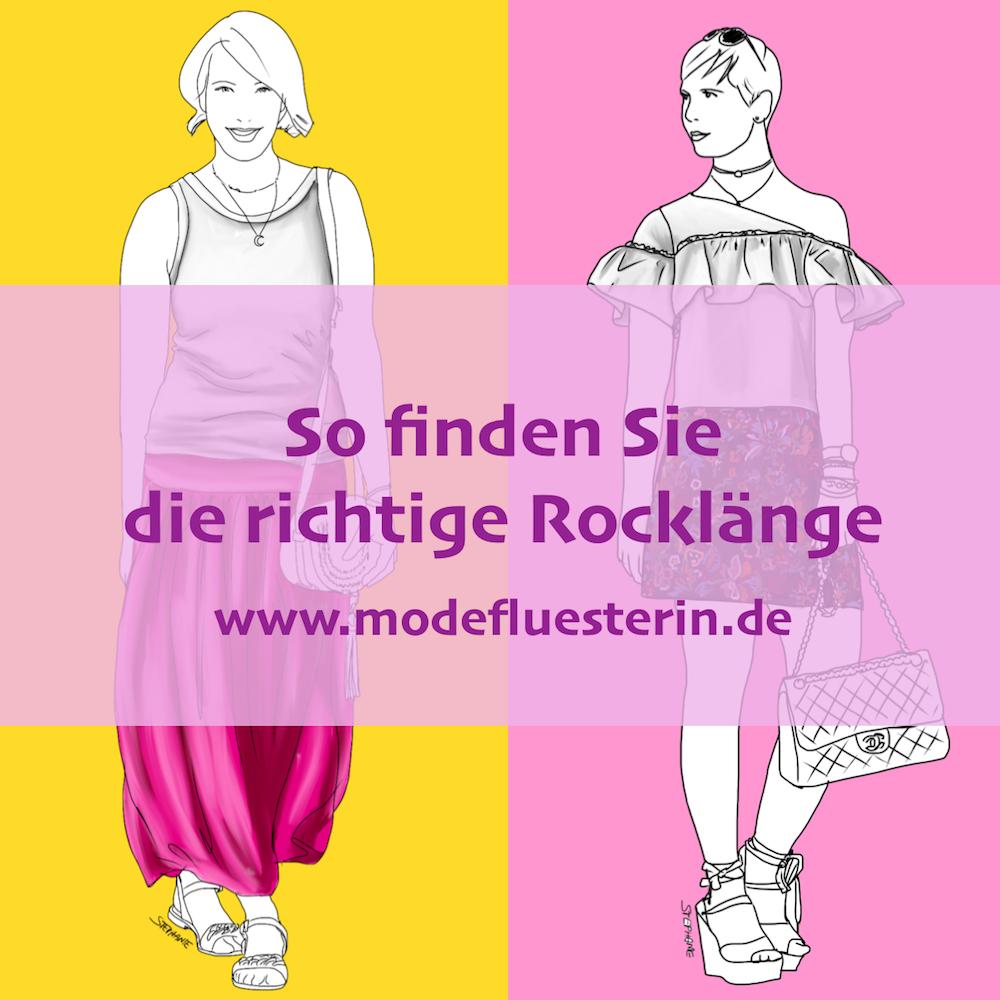 Die richtige Rocklänge finden - Mini, Midi, Maxi für jede Figur - Modeflüsterin