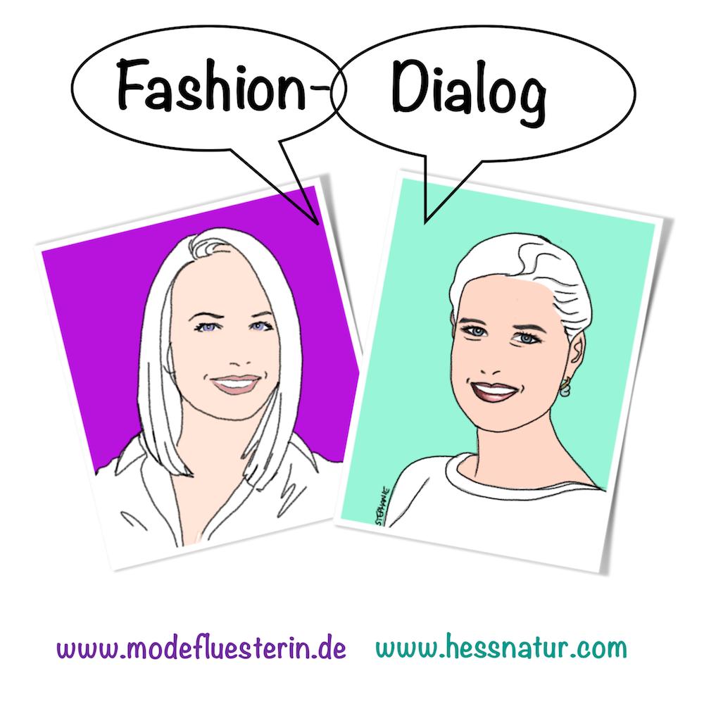 Interview über nachhaltige Mode mit hessnatur - Modeflüsterin, Mode, Stil und Wellbeing für starke Frauen über 40