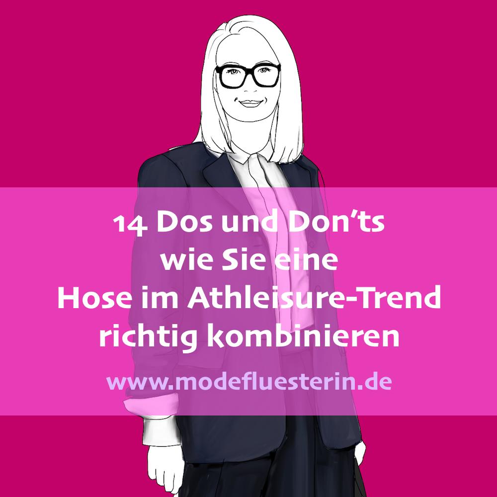 Athleisure Hosen kombinieren für Frauen über 40