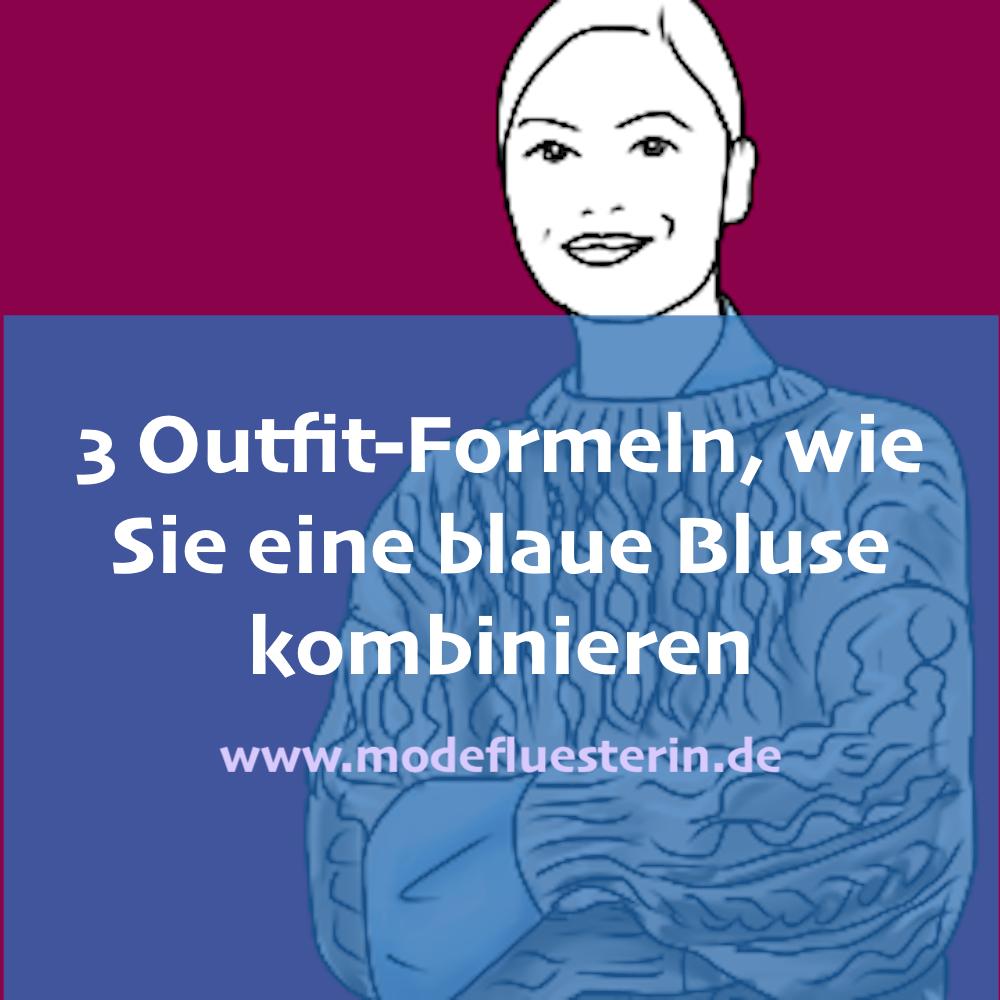 Wie Sie eine hellblaue Bluse kombinieren - für Büro, Freizeit, Party