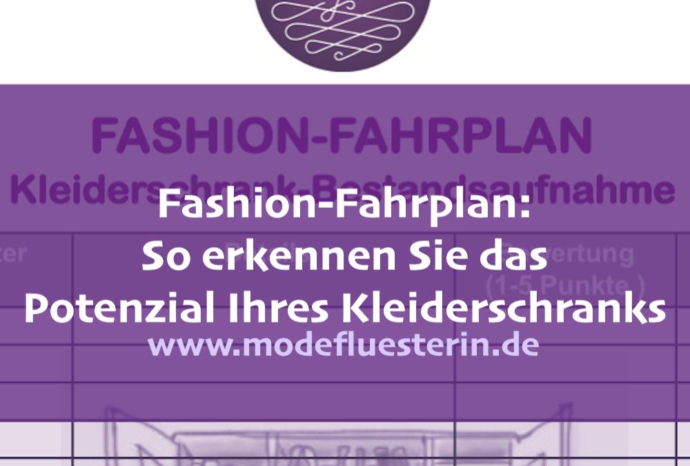 Fashion-Fahrplan: Analysieren Sie das Potenzial Ihres Kleiderschranks!
