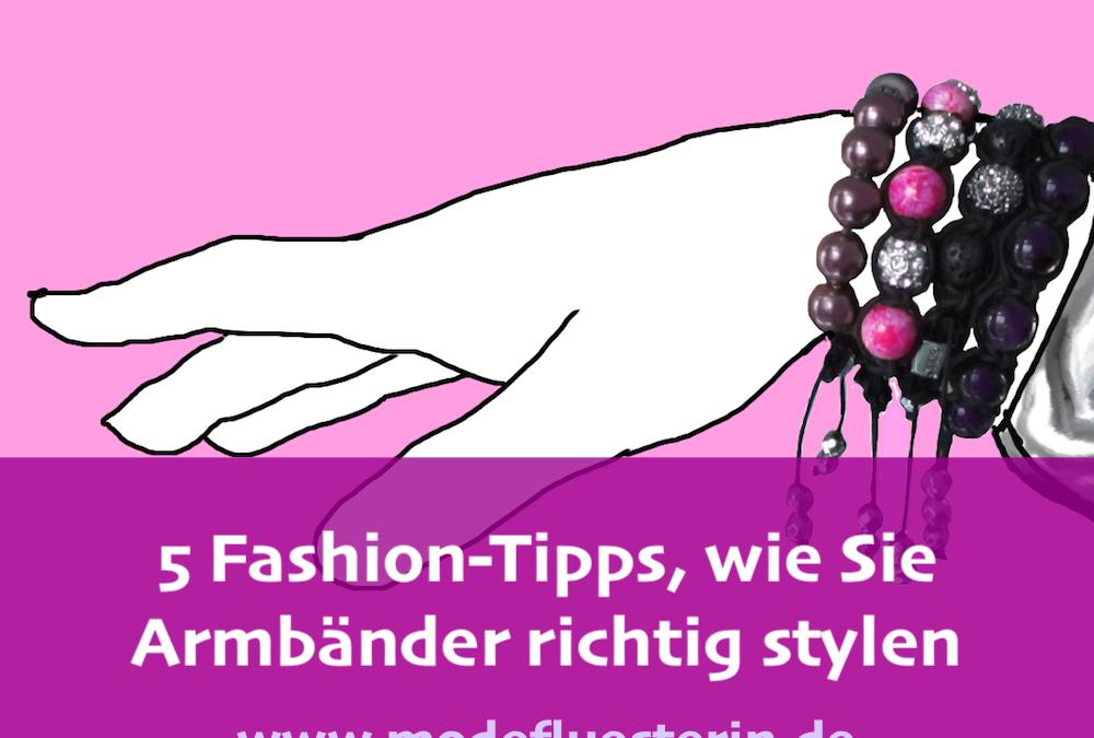 5 Fashion-Tipps, wie Sie Armbänder richtig stylen