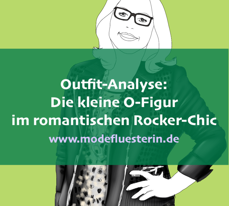 Outfit-Analyse: Die kleine O-Figur im romantischen Rocker-Chic